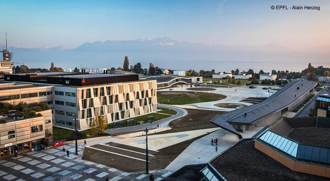 Responsable des espaces publics extérieurs et aménagements des espaces verts à l'EPFL (80-100%)